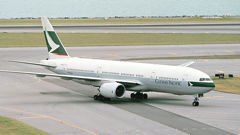 Cathay Pacific Gifts First 777 To Museum