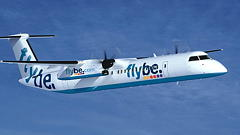 FlyBe Plane Evacuated After Landing Gear Collapse
