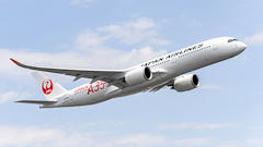 Airbus Delivers First A350 To Japan Airlines
