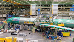 Lufthansa's First 777X Taking Shape