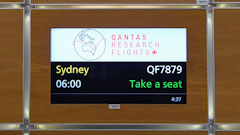 Qantas Completes London to Sydney Non-stop Flight