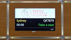 Qantas Completes London to Sydney Non-stop Flight