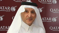 Qatar Air's Al Baker Says 'Business As Usual'