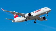 Swiss A220 Engine Failure Causes Cancellations
