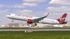 Airbus Delivers First A321neo To Virgin America