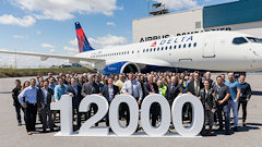 Airbus Delivers 12,000th Aircraft To Delta