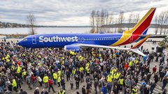 Boeing Celebrates 10,000th 737 Produced