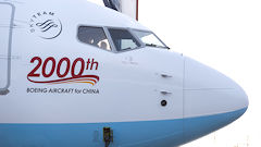 Boeing Delivers 2,000th Jet To China