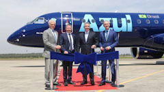 Embraer Delivers First E195-E2 to Brazil's Azul
